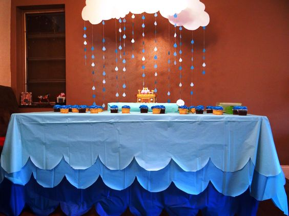 Decoracion De Nubes Para Baby Shower.Nubes De Papel En Tu Baby Shower Bebeazul Top