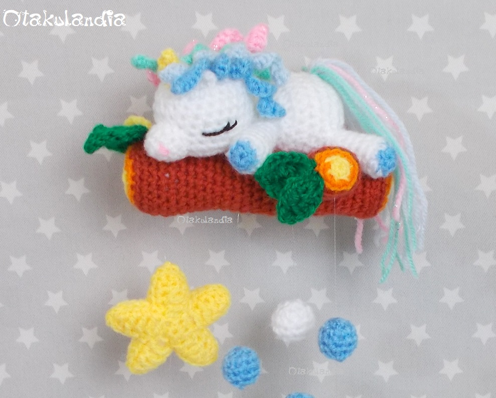 CROCHET PATTERN in English and Spanish - Mimi the Friendly Unicorn ... | 794x989