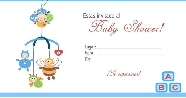 Baby Shower Invitaciones Para Imprimir Bebeazul Top