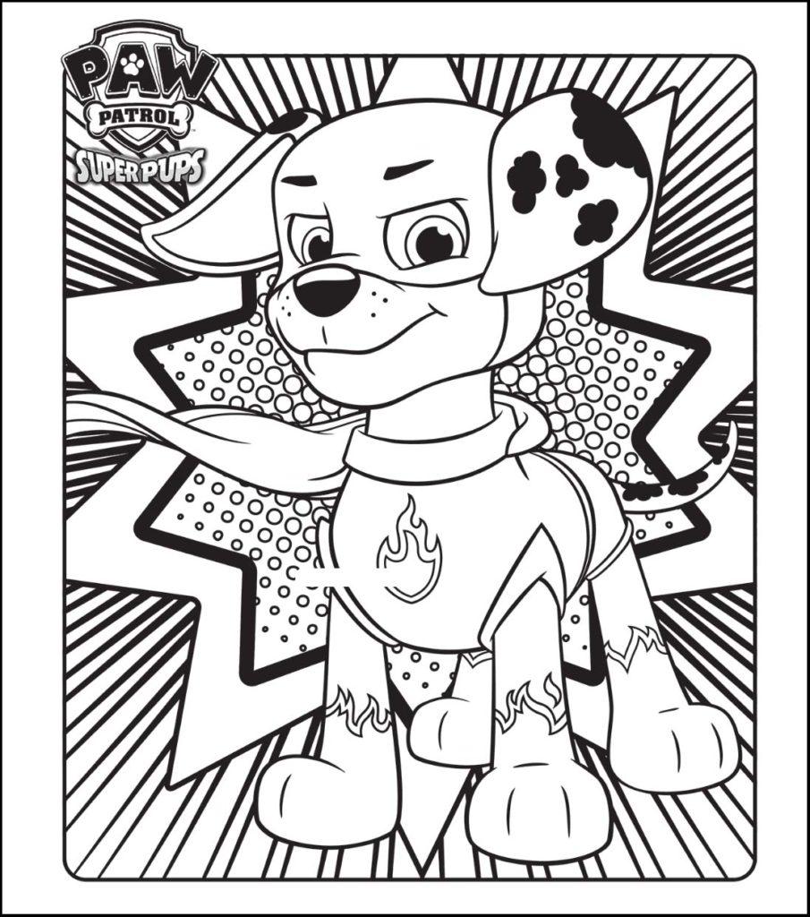 La Patrulla Canina Dibujos Para Colorear Bebeazul Top