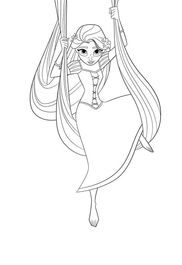 Rapunzel dibujos para colorear | Bebeazul.top
