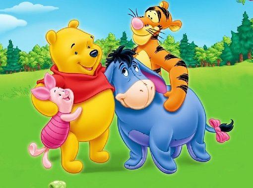Winnie De Pooh Puzzles Para Colorear Y Recortar Bebeazultop