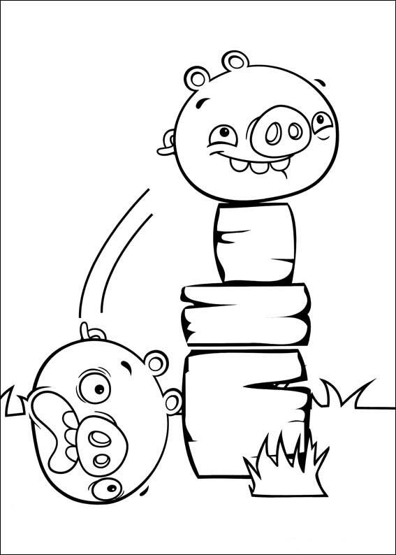 Angry Birds Para Pintar Bebeazul Top