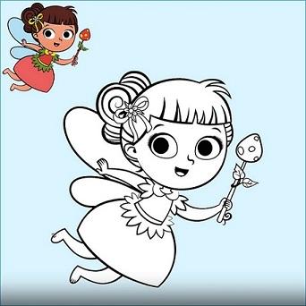 Dibujos De Hadas Para Los Mas Pequenos Bebeazul Top