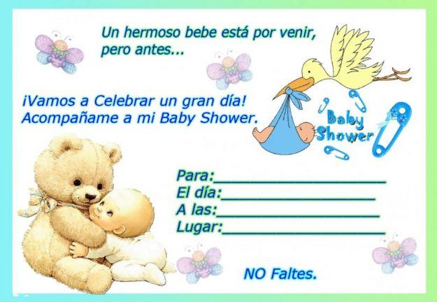 29 Maravillosas Invitaciones De Baby Shower Bebeazul Top