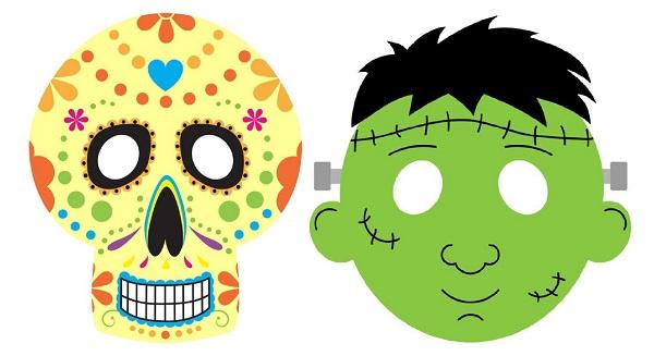 Mascaras De Halloween Para Ninos 2 Bebeazul Top