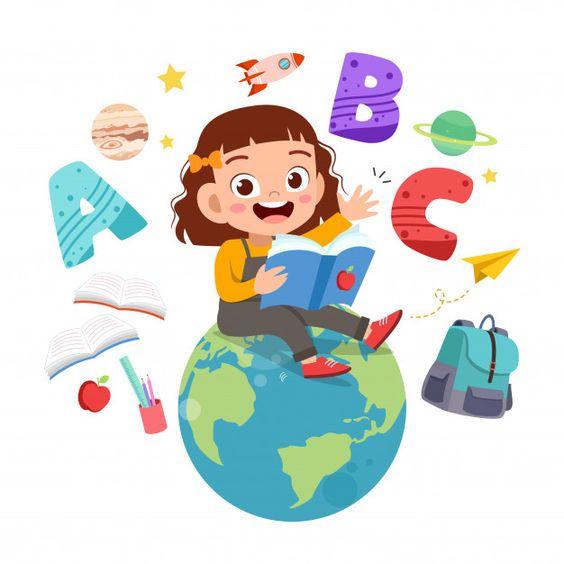nena con el mundo a su disposición