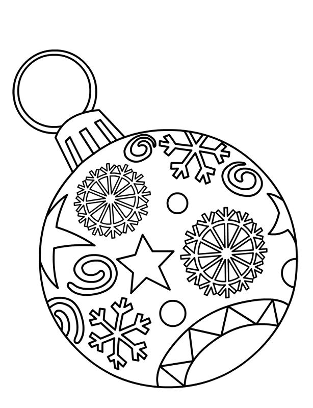 16 Bolas De Navidad Para Colorear Y Decorar La Casa Bebeazul Top