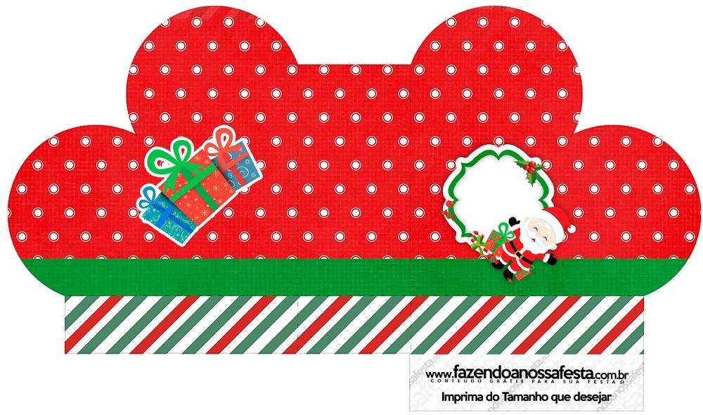 Cajitas regalitos para Navidad Mod. 10