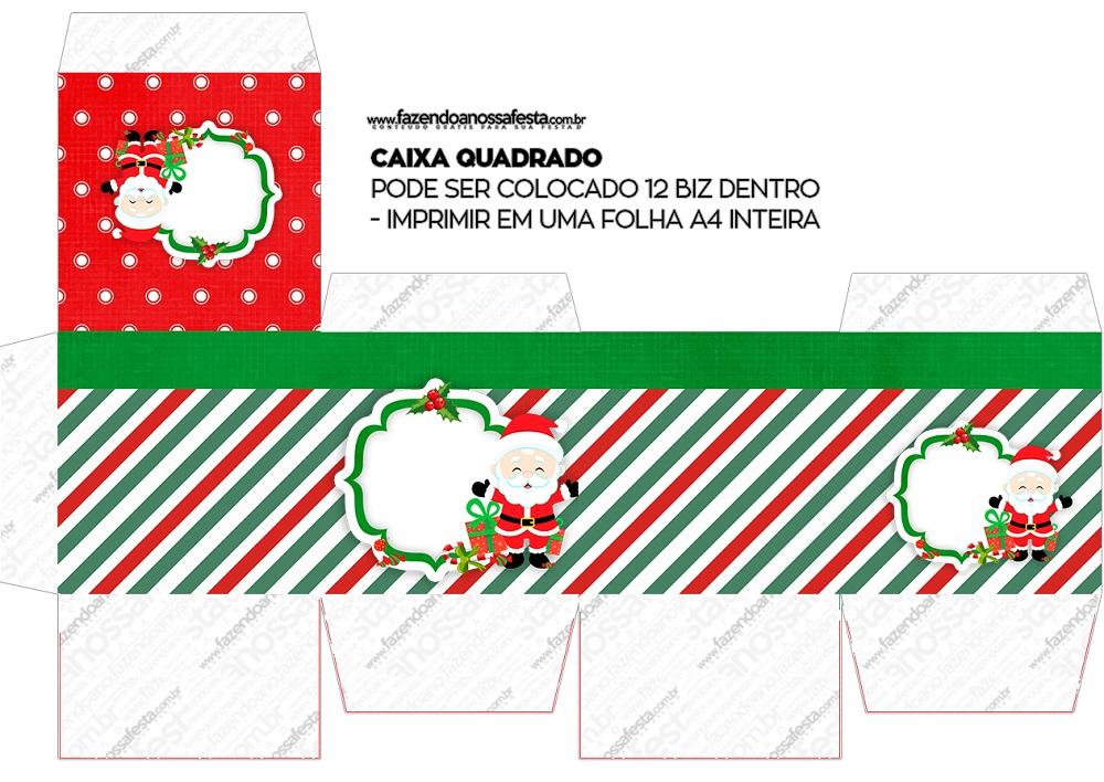 Cajitas regalitos para Navidad Mod. 11