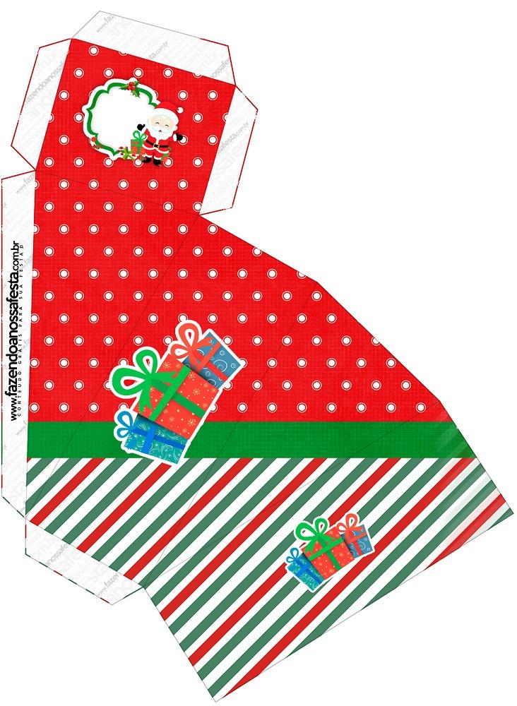 Cajitas regalitos para Navidad Mod. 12
