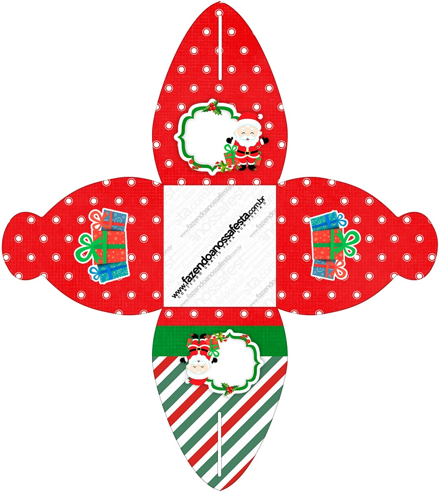 Cajitas regalitos para Navidad Mod. 14