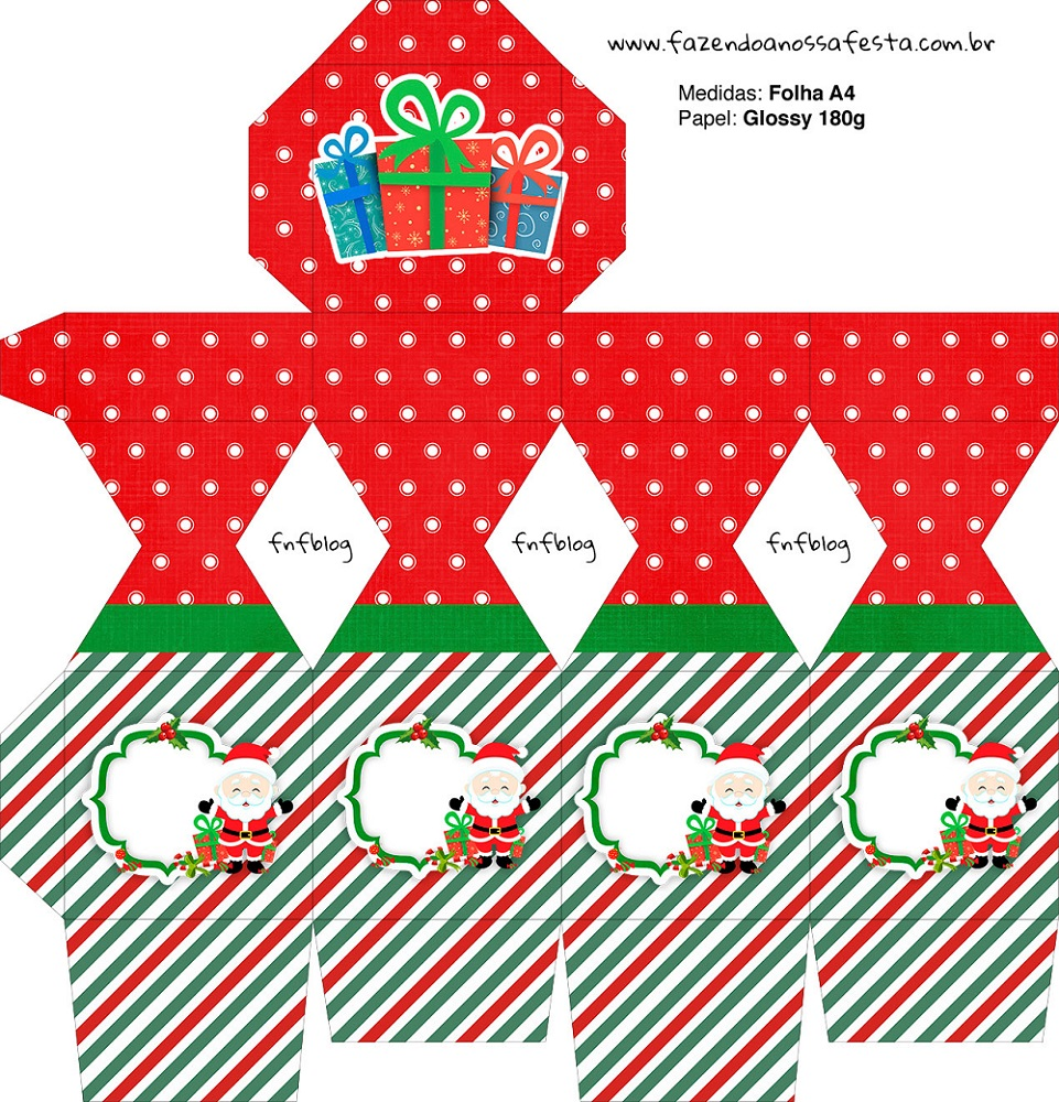 Cajitas regalitos para Navidad Mod. 2