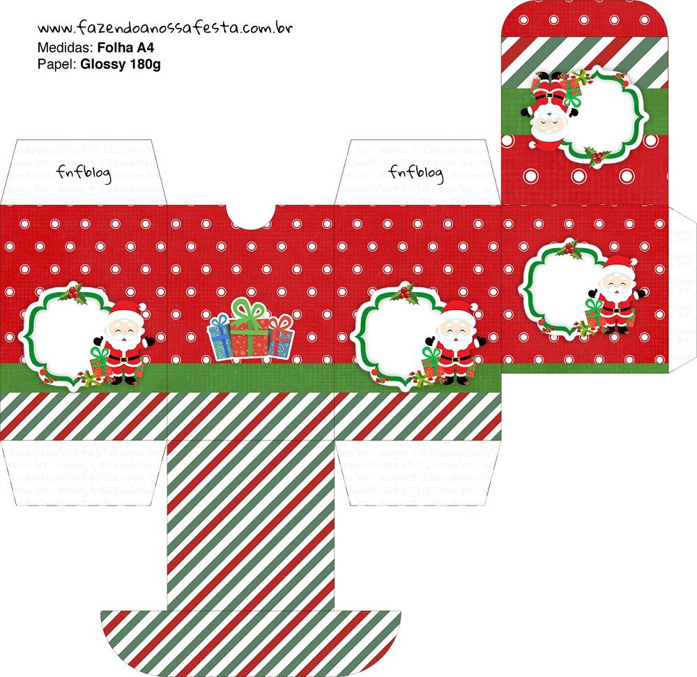 Cajitas regalitos para Navidad Mod. 5