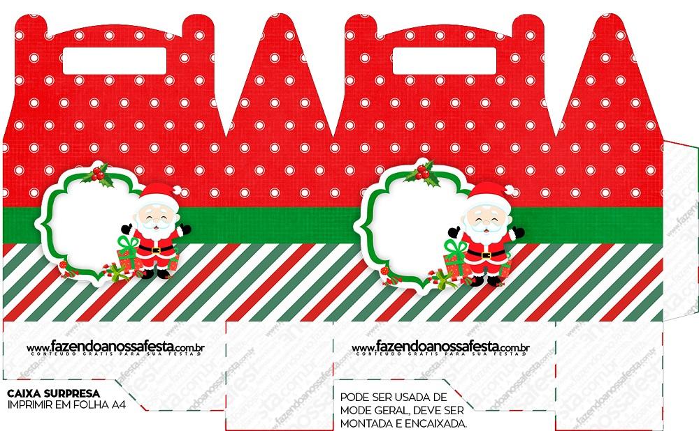 Cajitas regalitos para Navidad Mod. 6
