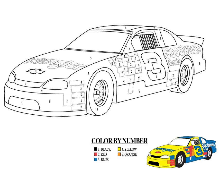 Ficha 17 para pintar con números