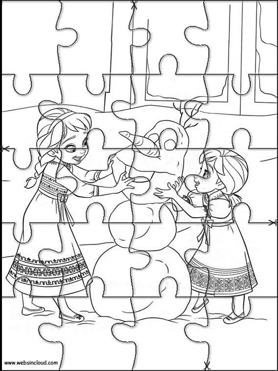 Puzzles de Frozen para disfrutar en las fiestas de Navidad