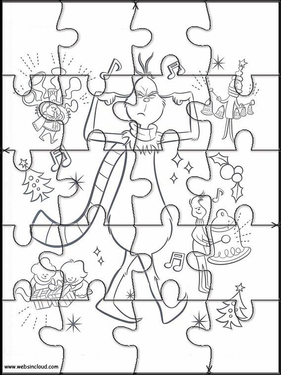 Puzzles del Grinch para los peques /2