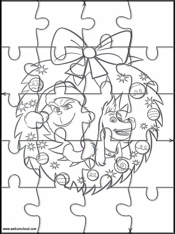 Puzzles del Grinch para los peques /3