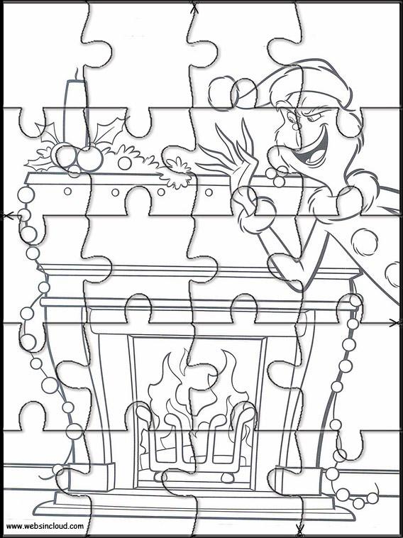 Puzzles del Grinch para los peques /5