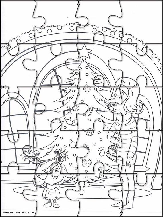 Puzzles del Grinch para los peques /6