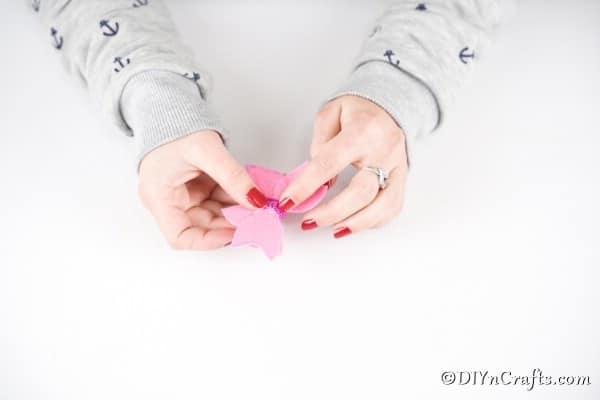 foto tutorial lazo para niña