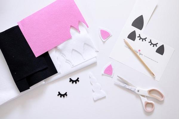 DIY Unicornio atrapasueños para su dormitorio