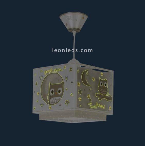 Decorando su dormitorio con lámparas de Búhos