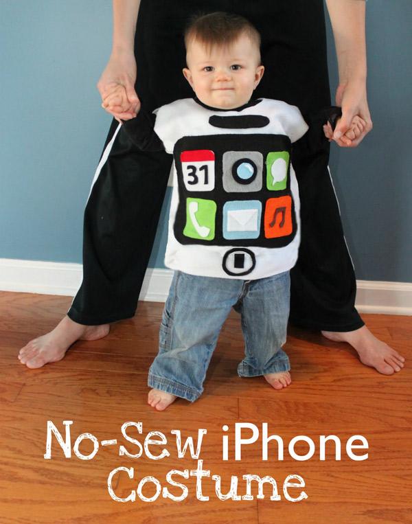 disfraz bebe iPhone