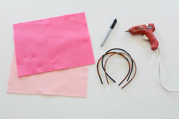 Materiales para hacer las orejas de gata