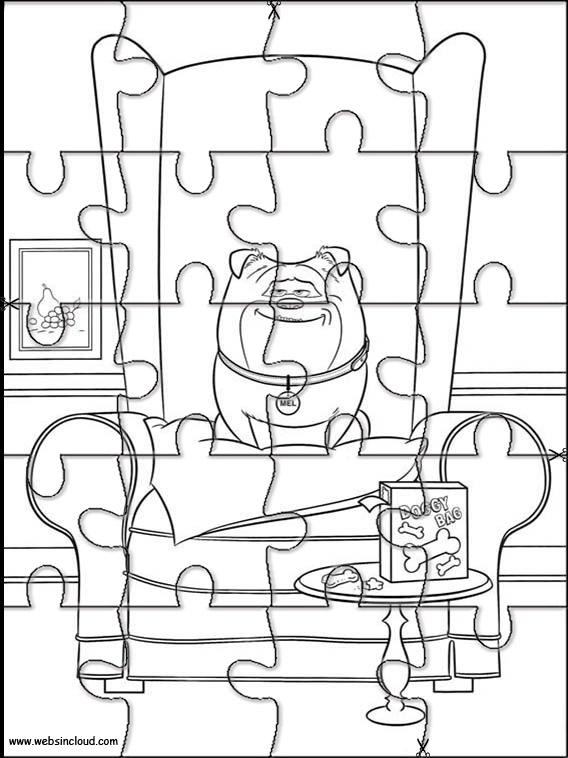 "Puzzles de ""Mascotas"" la película"