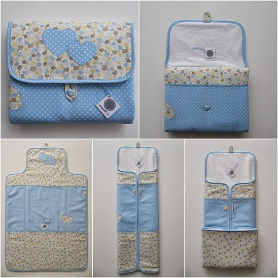 ¿Quieres hacerle un bolso-cambiador a tu bebe?