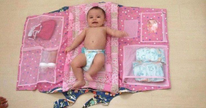 patrón bolso bebé