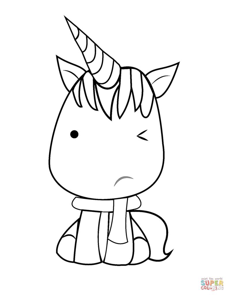 lámina de unicornio para pintar