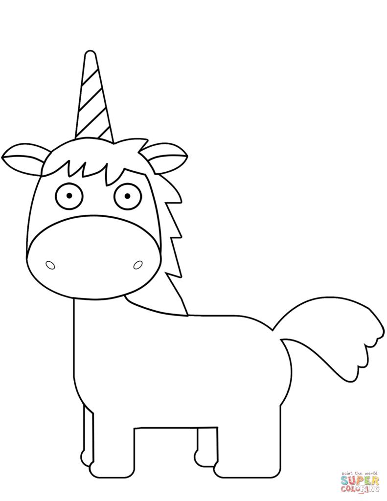 Unicornios para colorear y pasar un buen rato