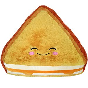 Cojín de sandwich de jamón y queso