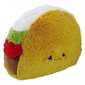 Taco mejicano, cojín infantil