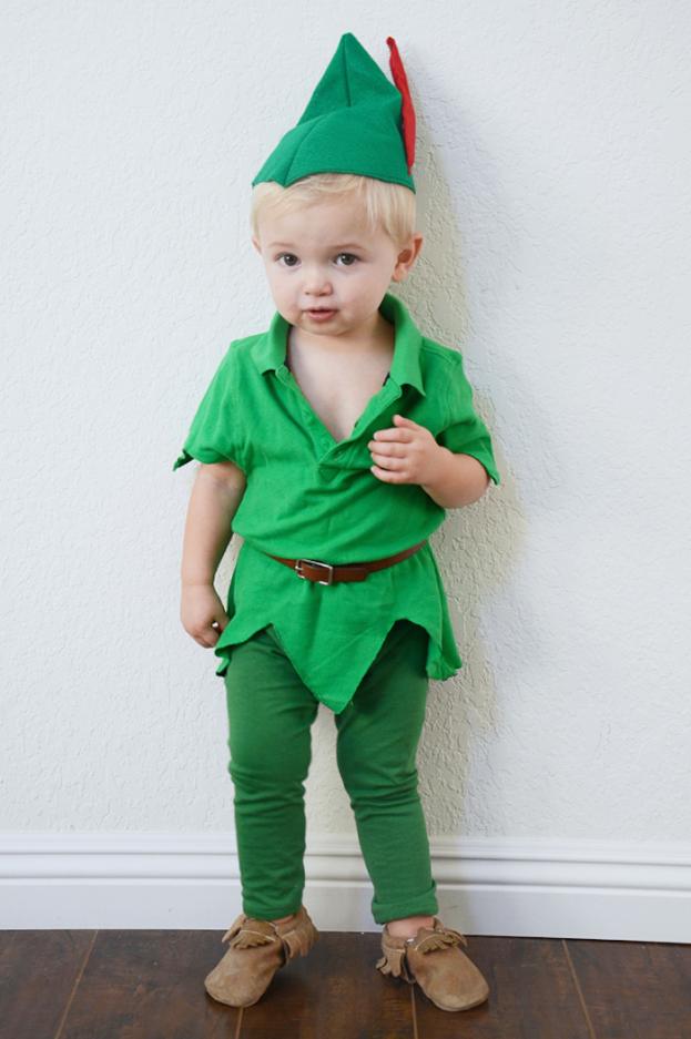 ¿Y si disfrazas a tu peque de Peter Pan?