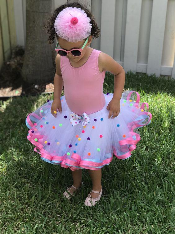 faldas y disfraces para niñas de tul