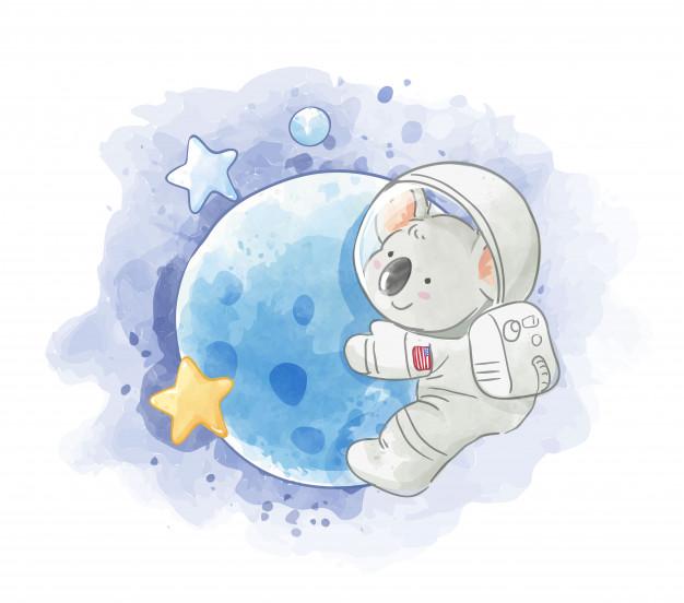 20 Ilustraciones infantiles imprimibles - Ositos y Koalas