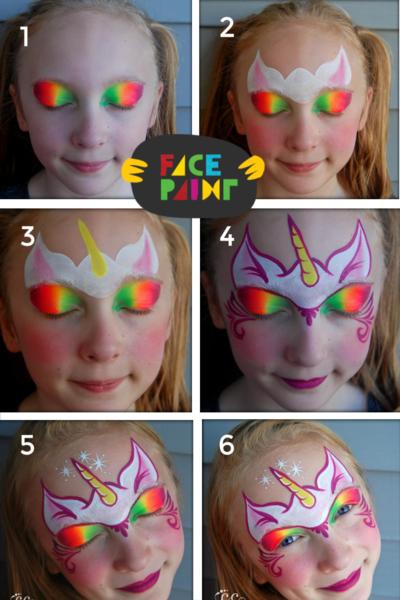 Maquillajes infantiles para Carnaval