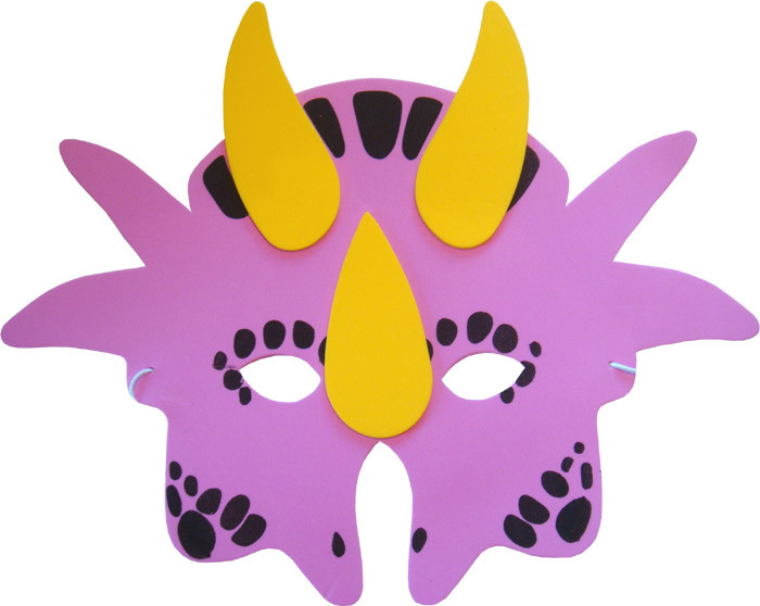 Fiesta de Cumpleaños con Máscaras de Dinosaurios
