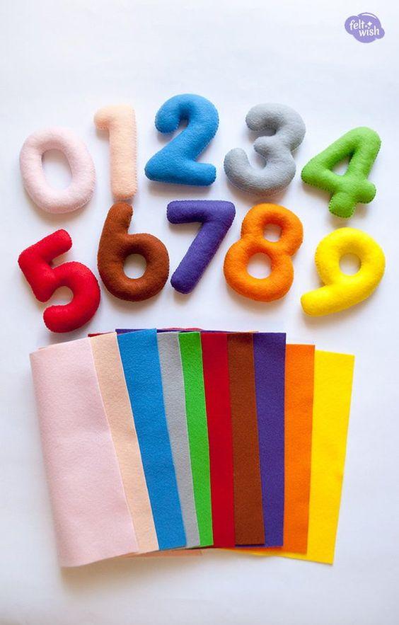 moldes letras alfabeto fieltro tela