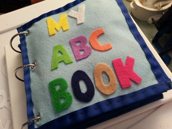 libro fieltro para bebés