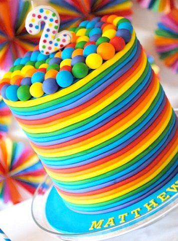 tarta para dos añitos