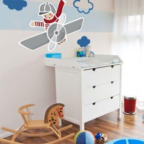 Decorando su dormitorio con Aviones