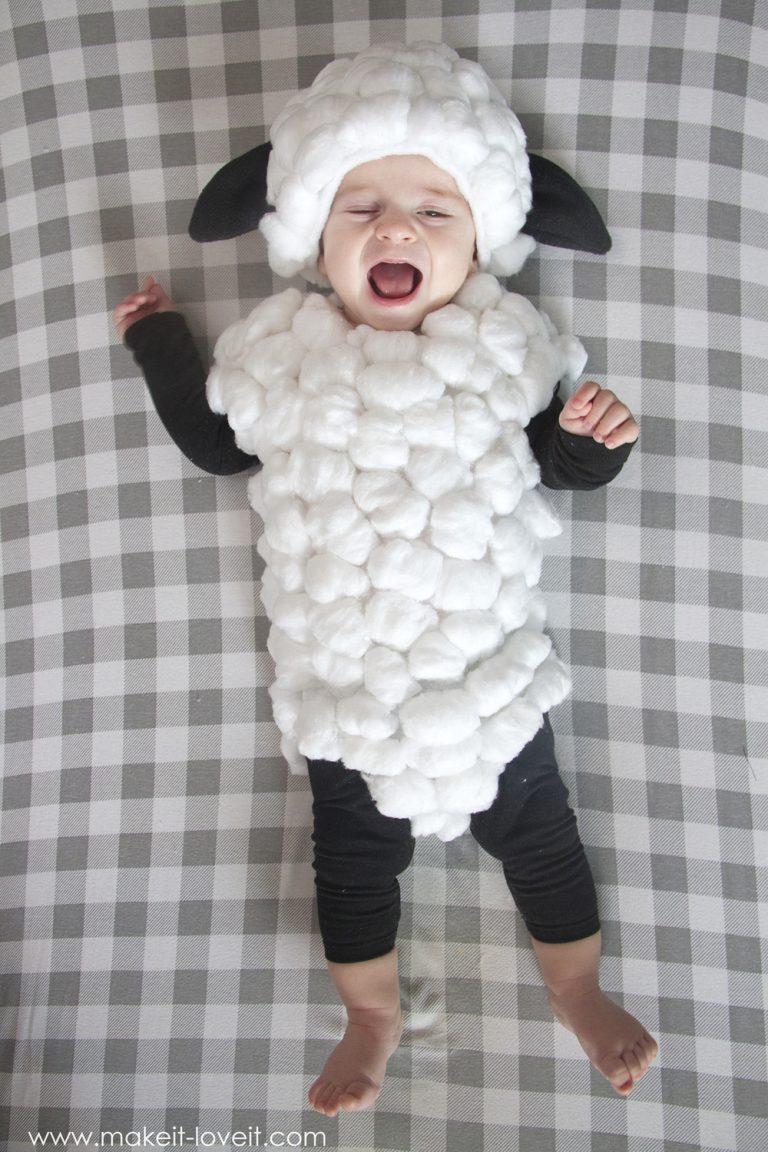 disfraz bebe tutorial