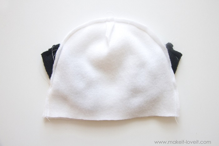 Disfraz de Corderito para Bebé fácil y rápido de hacer