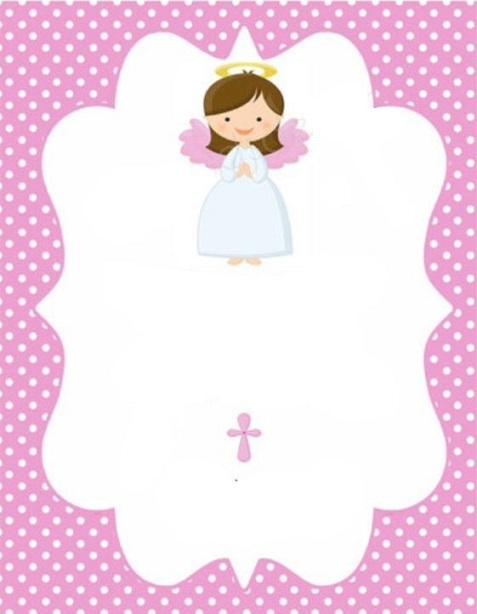imprimibles para bautizo
