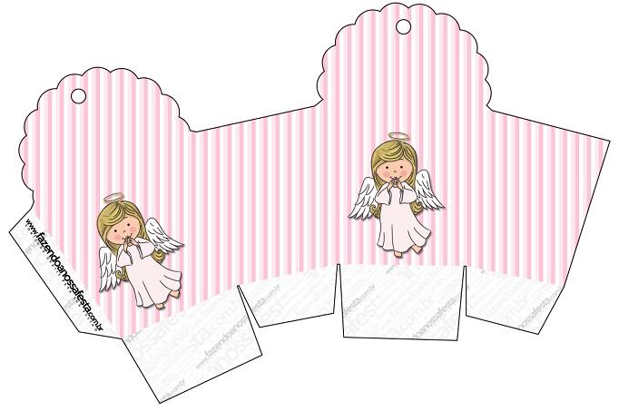 Para el Bautizo de tu nena: Kit completo para imprimir